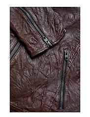 1c6b3e0012d Jjerichard Lamb Leather Jacket Noos (Brown Stone) (1599 kr) - Jack ...