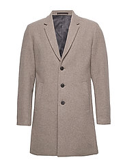 JPRMOULDER WOOL COAT STS - GREIGE