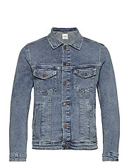 JJIALVIN JJJACKET SA 002 NOOS - BLUE DENIM