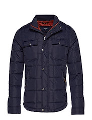 JPRLAMBERT QUILT JACKET - DARK NAVY