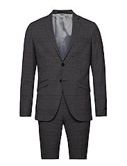 JPRKINGSBURG SUIT - GREY MELANGE