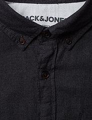 Jack & Jones - JJEMELANGE SHIRT L/S - casual skjortor - caviar - 2