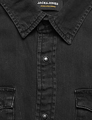 Jack & Jones - JJESHERIDAN SHIRT S/S SN - basic skjortor - black denim - 2