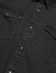Jack & Jones - JJESHERIDAN SHIRT S/S SN - basic skjortor - black denim - 3