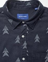 Jack & Jones - JORDREW SHIRT LS - casual skjortor - navy blazer - 3