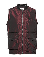 JCOVOID VEST - CHINESE RED