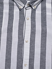 Jack & Jones - JJESUMMER MIX SHIRT L/S S20 STS - casual skjortor - navy blazer - 2