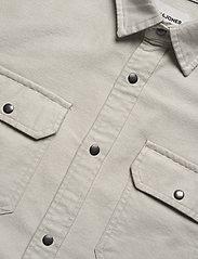 Jack & Jones - JCOPETER DENIM SHIRT LS WORKER - podstawowe koszulki - glacier gray - 3