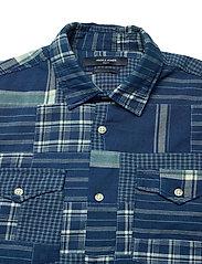 Jack & Jones - JPRBLUPATCH SHIRT L/S WORKER - rutiga skjortor - faded blue - 2