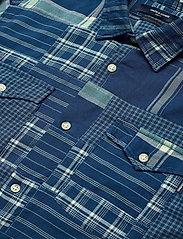 Jack & Jones - JPRBLUPATCH SHIRT L/S WORKER - rutiga skjortor - faded blue - 3