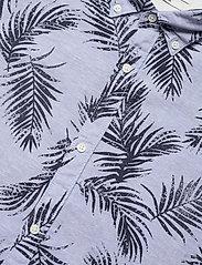 Jack & Jones - JPRBLASUMMER LEAF SHIRT L/S S20 - casual skjortor - cashmere blue - 2