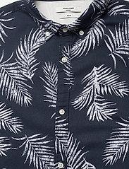 Jack & Jones - JPRBLASUMMER LEAF SHIRT L/S S20 - casual skjortor - navy blazer - 2