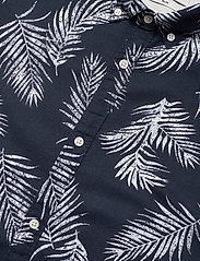 Jack & Jones - JPRBLASUMMER LEAF SHIRT L/S S20 - casual skjortor - navy blazer - 3