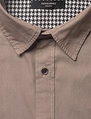 Jack & Jones - JPRLANDON LS SHIRT TC319 - casual skjortor - greige - 2