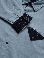 Jack & Jones - JORCHANDLER SHIRT LS - basic skjortor - ashley blue - 4