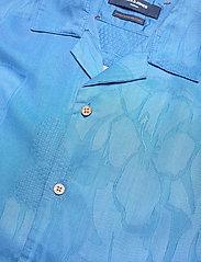 Jack & Jones - JPRBLUCOOPER RESORT SHIRT S/S RELAX - rutiga skjortor - denim blue - 2