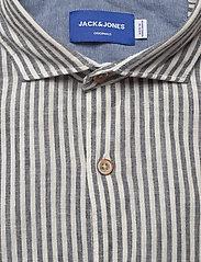 Jack & Jones - JORDONNY SHIRT LS - linneskjortor - ensign blue - 2