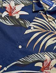 Jack & Jones - JORMARTY ORGANIC SHIRT SS - kortermede skjorter - blue depths - 4