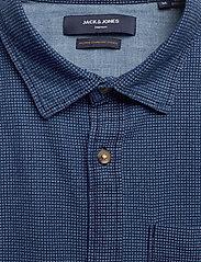 Jack & Jones - JPRBLUEASTON SHIRT L/S ONE POCKET - casual skjortor - denim blue - 3