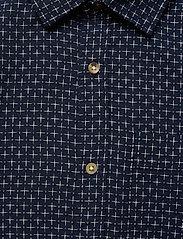Jack & Jones - JPRBLUEASTON SHIRT L/S ONE POCKET - casual skjortor - navy blazer - 2