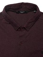 Jack & Jones - JPRBLAJACE LS JERSEY SHIRT - basic skjorter - vineyard wine - 2