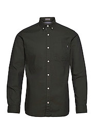 JJECLASSIC SOFT OXFORD SHIRT L/S NOOS - OLIVE NIGHT