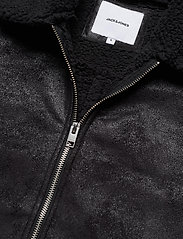 Jack & Jones - JJFLIGHT JACKET - skinnjakker - black - 3