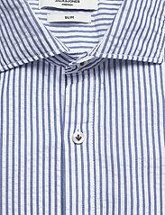 Jack & Jones - JPRBLATORINO SEERSUCKER SHIRT L/S - business skjortor - cashmere blue - 2
