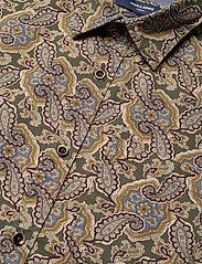 Jack & Jones - JPRBLUCORBIN PRINT SHIRT L/S ONE POCKET - casual skjortor - forest night - 3