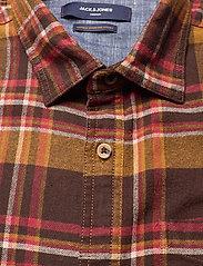 Jack & Jones - JPRBLUJAMIE SHIRT L/S ONE POCKET - rutiga skjortor - cumin - 2