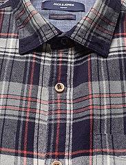 Jack & Jones - JPRBLUJAMIE SHIRT L/S ONE POCKET - rutiga skjortor - navy blazer - 2