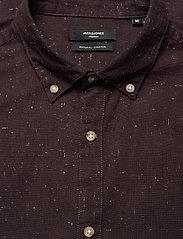 Jack & Jones - JPRBLALOGO AUTUMN SHIRT L/S STS - basic skjortor - vineyard wine - 2