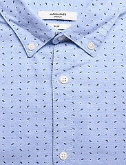 Jack & Jones - JPRBLALOGO STRETCH SHIRT AOP L/S - basic skjortor - cashmere blue - 2