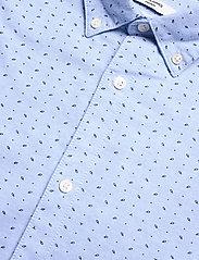 Jack & Jones - JPRBLALOGO STRETCH SHIRT AOP L/S - basic skjortor - cashmere blue - 3