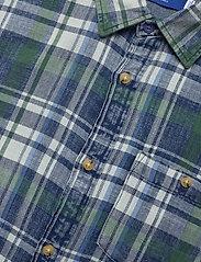 Jack & Jones - JORHANS SHIRT LS - rutiga skjortor - trekking green - 3