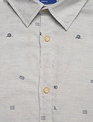 Jack & Jones - JORFUEL SHIRT LS - casual skjortor - cloud dancer - 2