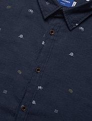 Jack & Jones - JORFUEL SHIRT LS - casual skjortor - navy blazer - 3