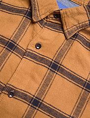 Jack & Jones - JORJAN SHIRT LS - rutiga skjortor - rubber - 3