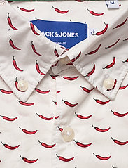 Jack & Jones - JORANDREW SS SHIRT SH - kortärmade skjortor - white - 2