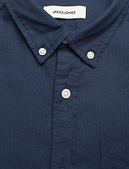 Jack & Jones - JJEOXFORD SHIRT L/S S21 - casual skjortor - navy blazer - 2