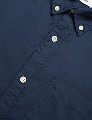 Jack & Jones - JJEOXFORD SHIRT L/S S21 - casual skjortor - navy blazer - 3
