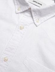 Jack & Jones - JJEOXFORD SHIRT L/S S21 - casual skjortor - white - 3