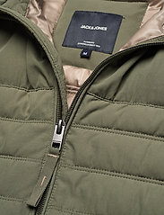 Jack & Jones - JJBASE LIGHT COLLAR JACKET - forede jakker - dusty olive - 3