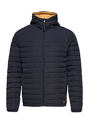 JJBASE LIGHT HOOD JACKET - DARK NAVY