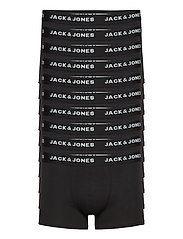JACSOLID TRUNKS 10 PACKS - BLACK