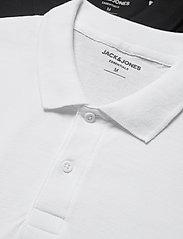 Jack & Jones - JJEBASIC POLO SS 2PK MP - short-sleeved polos - black - 1