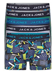 JACSUMMER PRINT TRUNKS 5 PACK LTN - BLAZING YELLOW