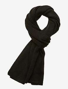 JACDNA KNIT SCARF NOOS - sjaals - black