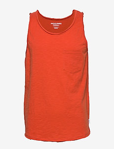 JORWALLET TANK TOP STS - chili
