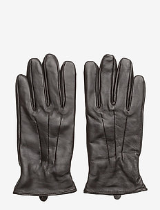 JACMONTANA LEATHER GLOVES NOOS - DARK EARTH